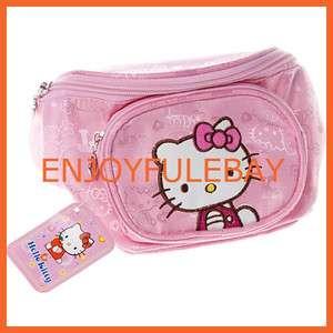 Hello Kitty Girls Purse Waist Bag Fanny Pack Pink