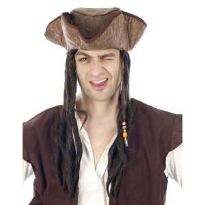 PIRATE BROWN HAIR WITH HAT [Toy] Toys & Games