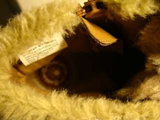 BUSTER BROWN SIZE 12 FAUX FUR BROWN BOOTS SIDE ZIP ANKLE