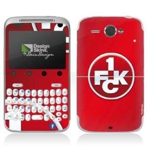 Design Skins for HTC ChaCha   1. FCK Logo Design Folie