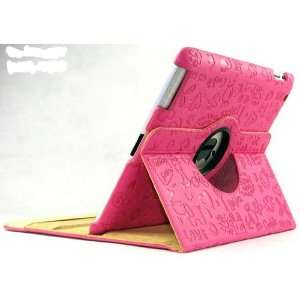 Rotating Leather Ipad 2 Case Cover Pretty Cute Lovely Leather Case