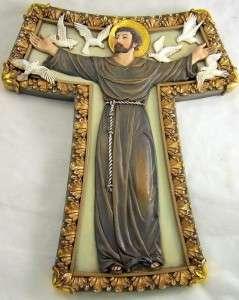 Saint St. Francis Franciscan Patron Of Animals Cross NR