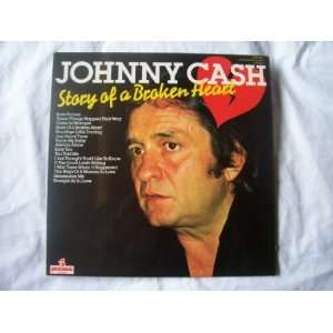 JOHNNY CASH Story of a Broken Heart LP UK Johnny Cash Music