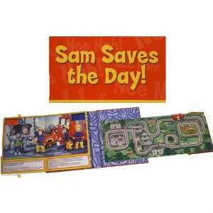 Fireman Sam Sam Saves the Day (Fireman Sam Track Book
