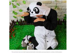 Kigurumi Animal Character Costume Cosplay Halloween Party Pajama*Panda