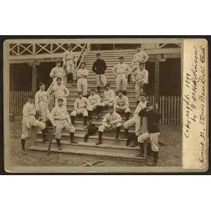 Louis baseball club,group B,Perfectos,uniforms,c1899