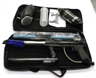 Model 98 Semi Auto Paintball Gun Package   CO2 Tank   OTP Barrel   Bag