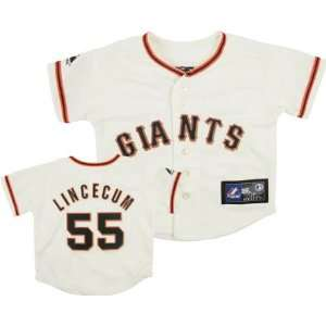Tim Lincecum Majestic Replica San Francisco Giants Infant