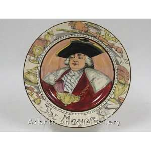 Antique Royal Doulton The Mayor Plate