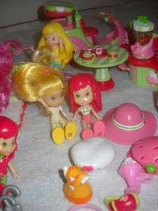 Strawberry Shortcake Mini Berry Furniture Scooter Orange Blossom Dolls