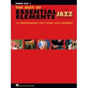 The Best of Essential Elements for Jazz Ensemble   TENOR