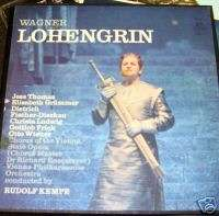 Wagner Lohengrin opera LP record album box set ANGEL EX