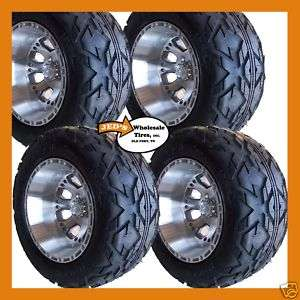 21x10.50 12 Lifted Golf Cart Tires Wheels 6ply DOT app.