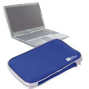 Durable Impact Resistant Blue Neoprene Laptop Pouch For