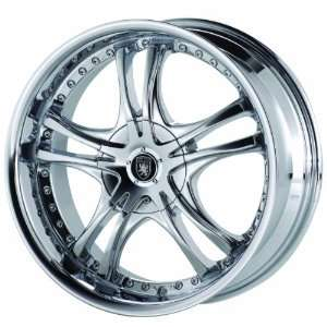 Von Max VM1 18x7.5 Chrome Wheel / Rim 5x110 & 5x115 with a 40mm Offset