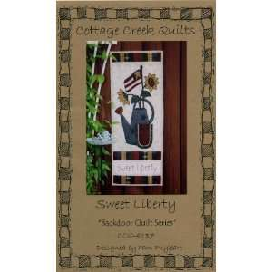 Sweet Liberty (Quilted Wall Hanging Pattern) (Backdoor