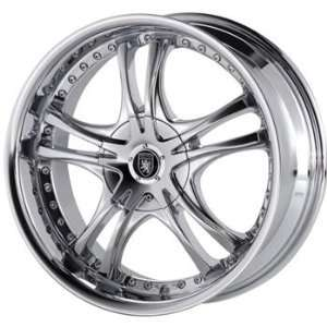 Von Max VM1 15x7 Chrome Wheel / Rim 5x100 & 5x115 with a 40mm Offset
