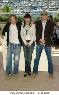 Actress Sandra Bullock With Actors Ryan Gosling (Right) & Michael Pitt