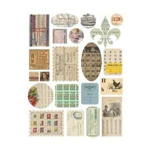 Melissa Frances Attic Treasures Stickers Paper Works; 3
