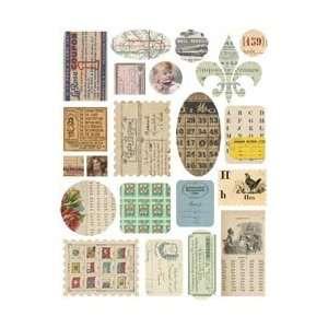 Melissa Frances Attic Treasures Stickers Paper Works; 3