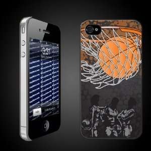Basketball iPhone Design Girls Basketball in Hoop