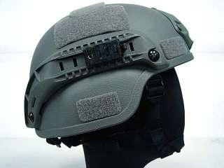 MICH TC 2000 ACH Helmet w/NVG Mount & Side Rail ACU
