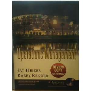 Management heizer 10th operations jay edition pdf