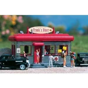 DINER   PIKO G SCALE MODEL TRAIN BUILDINGS 62250 Toys & Games