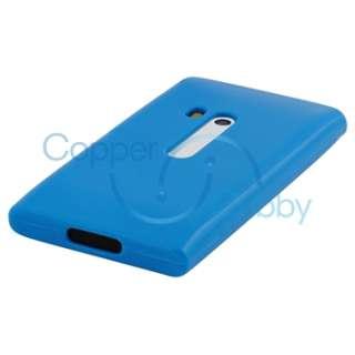 TPU Rubber Gel Hard Skin Case Cover LCD Film for Nokia N9 N9 00 Lankku