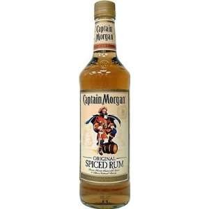 Captain Morgan Rum 750ml: Grocery & Gourmet Food