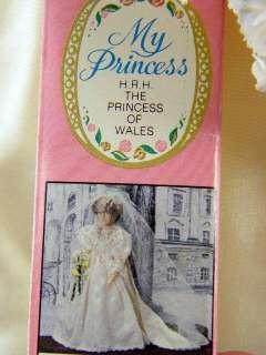 16 Vinyl Bride Doll Princess Diana by House of Nisbet