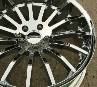 GIOVANNA MARTUNI 20 CHROME RIMS WHEELS INFINITI G35 G37 2DR 4DR
