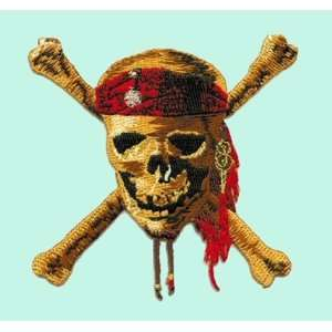 the Caribbean III Movie   Skull and Cross Bones Patch Office Products