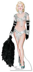 Monroe Life size stand up cardboard cut out   Old Hollywood Glamour