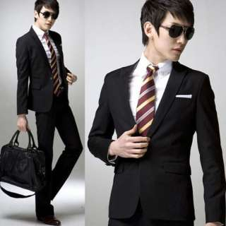 CBUNITED Black Slim Fit One Button Blazer XS L New 2011