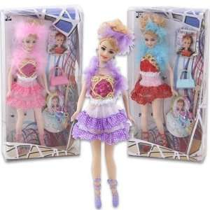 Plastic Fashion Girl Doll 7 Pc 12 Case Pack 24 Baby