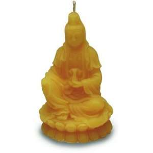 Quan Yin Goddess Beeswax Candle: Home & Kitchen