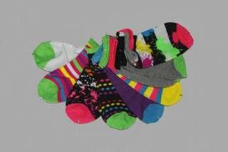 DOLLHOUSE Neon Socks Dots Stripes Funky Etc. NEW