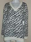 NEW MATIX LONELY STORM ABSTRACT ZEBRA TUNIC SWEATER TOP JAPAN KAWAII M