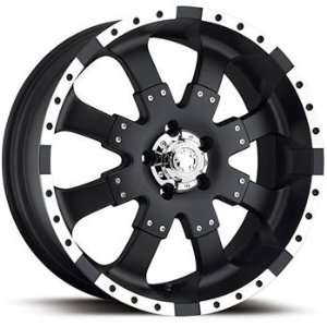 Ultra Goliath 18x9 Black Wheel / Rim 8x6.5 with a 25mm Offset and a