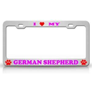 I LOVE MY GERMAN SHEPHERD Dog Pet Animal High Quality
