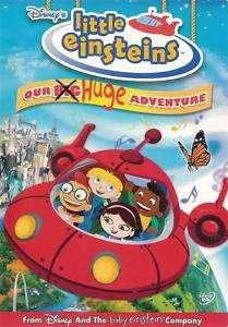 Little Einsteins Our Big Huge Adventure   DVD 786936287127
