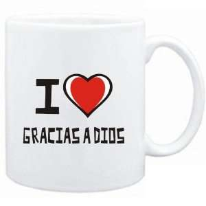 Mug White I love Gracias A Dios  Cities: Sports & Outdoors