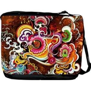 Rikki KnightTM Kleidescope Design Messenger Bag   Book Bag