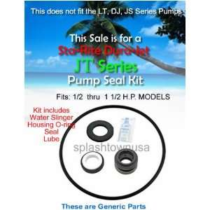 Sta Rite DURA JET JT Series Pump Shaft Seal & O ring Kit