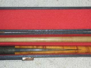 Meucci Originals Collection 2 Piece Pool Cue Billiards Stick with Case