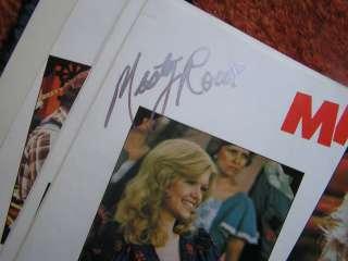 autographed family scrapbooks cast gordie tapp don harron roy clark