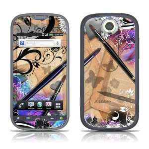 Dream Flowers Design Protective Skin Decal Sticker for HTC