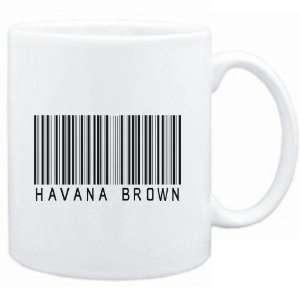 Mug White  Havana Brown BARCODE  Cats