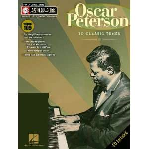 Oscar Peterson   Jazz Play Along Volume 109   Book and CD